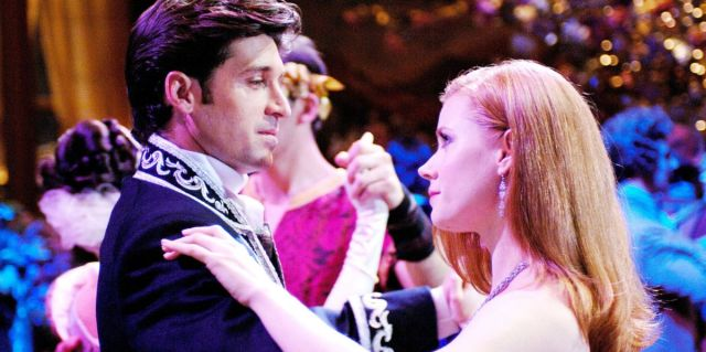 Patrick Dempsey and Amy Adams in Disney's Enchanted