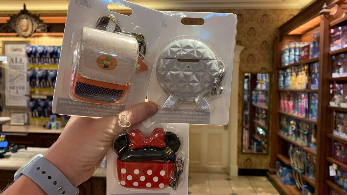 More New Disney AirPod Cases Now At Walt Disney World