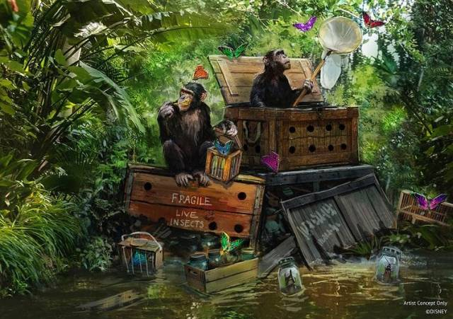Jungle Cruise will remain open as work starts on update 1