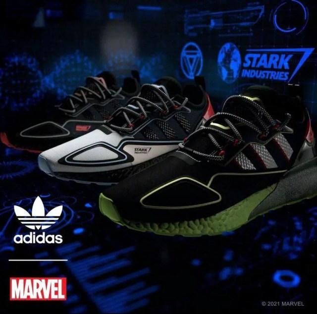 Marvel x adidas Stark Industries