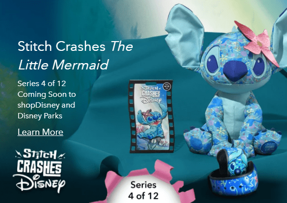 April Stitch Crashes Disney