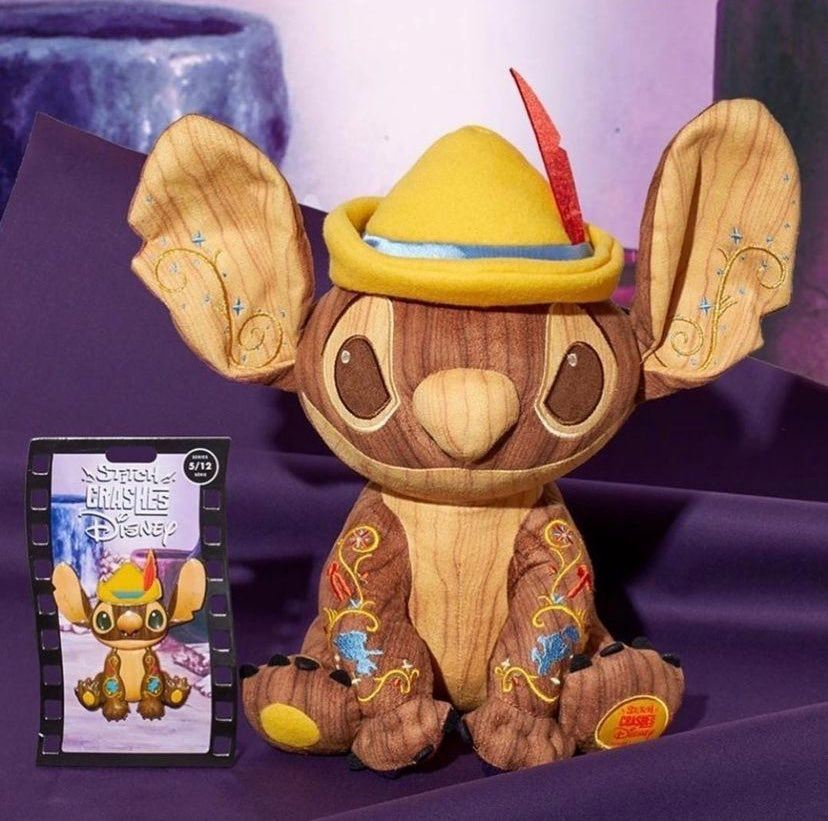 Pinocchio Stitch Crashes Disney Collection For May