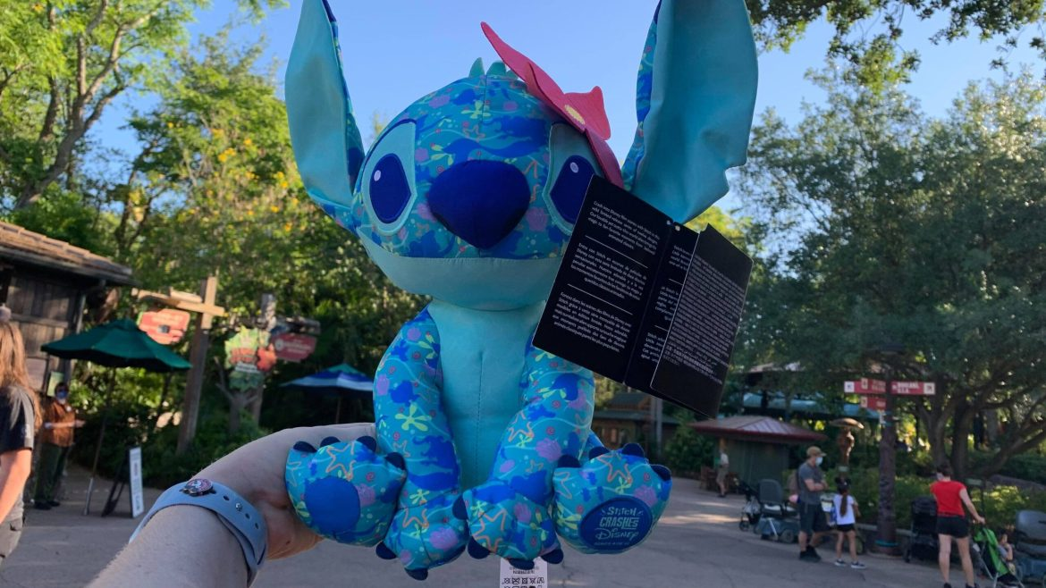 Stitch Crashes The Little Mermaid Collection Arrives At Walt Disney World