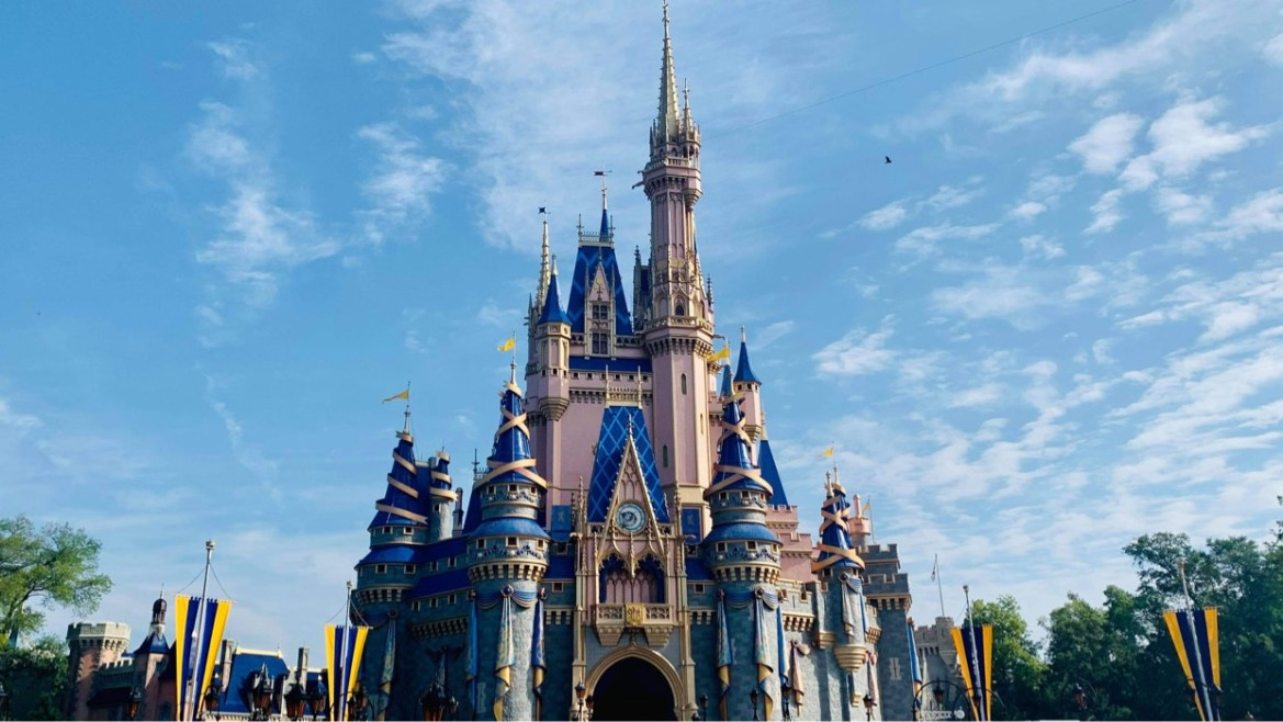 Cinderella Castle Turrets now complete as part of the 50th Anniversary Makeover