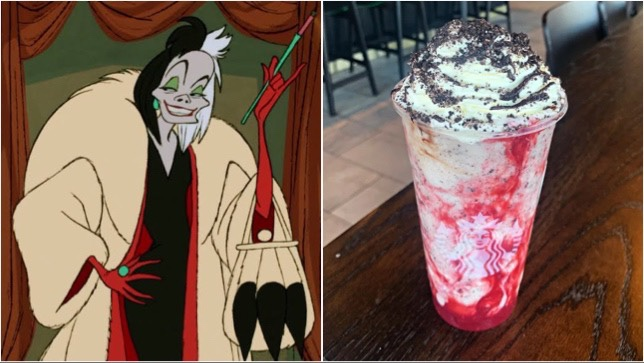Cruella De Vil Frappuccino You Can Order At Starbucks!