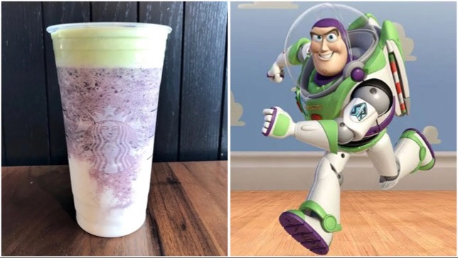 This Buzz Lightyear Frappuccino Will Take To Infinity And Beyond!