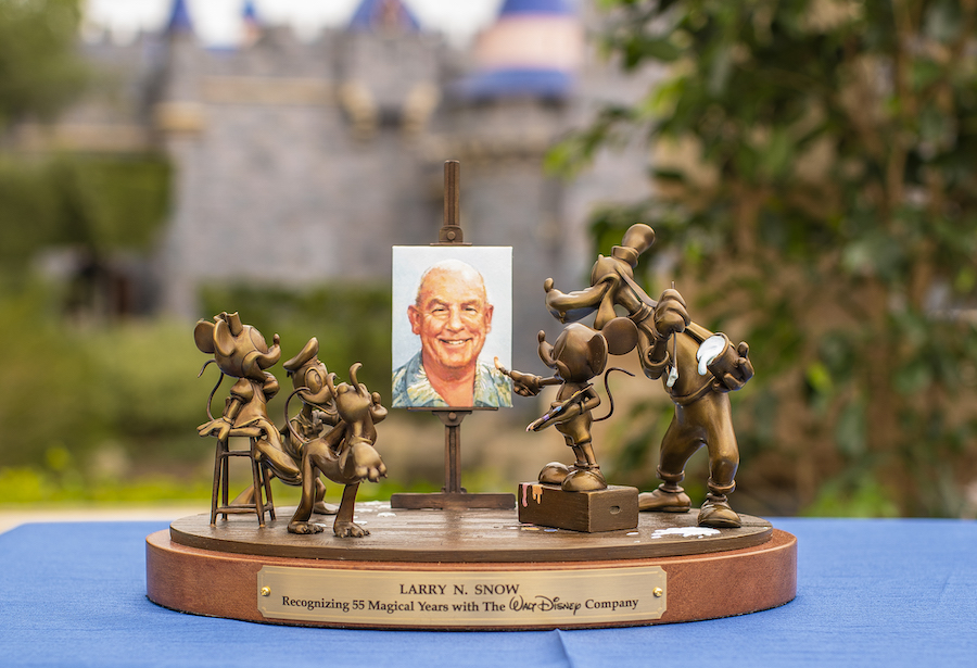 Disneyland Cast Members Honored at a special ceremony for over 50 Years of Service
