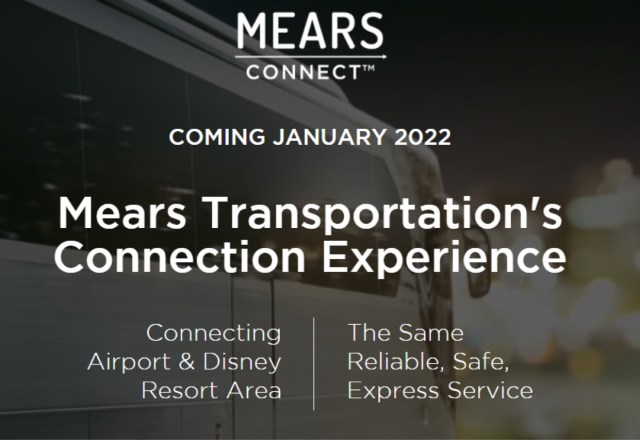 Mears announces new direct service from Orlando Airport to Disney Resorts in 2022 3