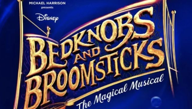 Bedknobs and Broomsticks: the Magical Musical Logo