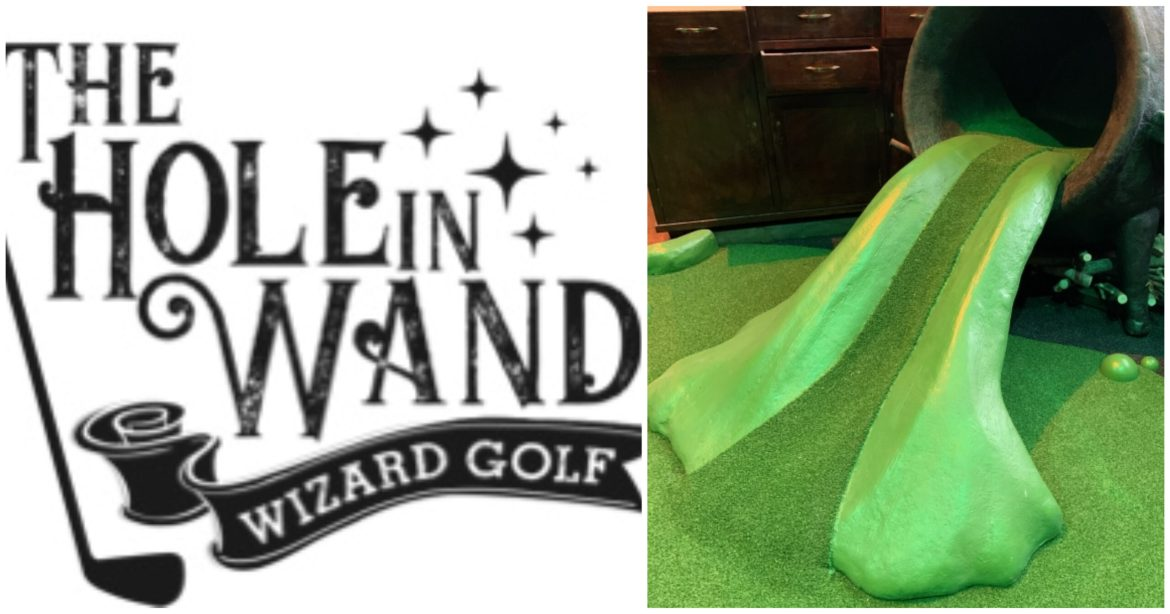 Visit this Harry Potter Themed Miniature Golf Course