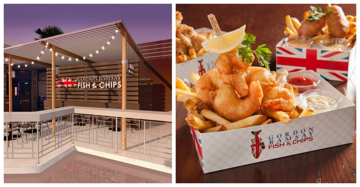 Gordon Ramsay Fish & Chips Announces Newest Location coming to Orlando