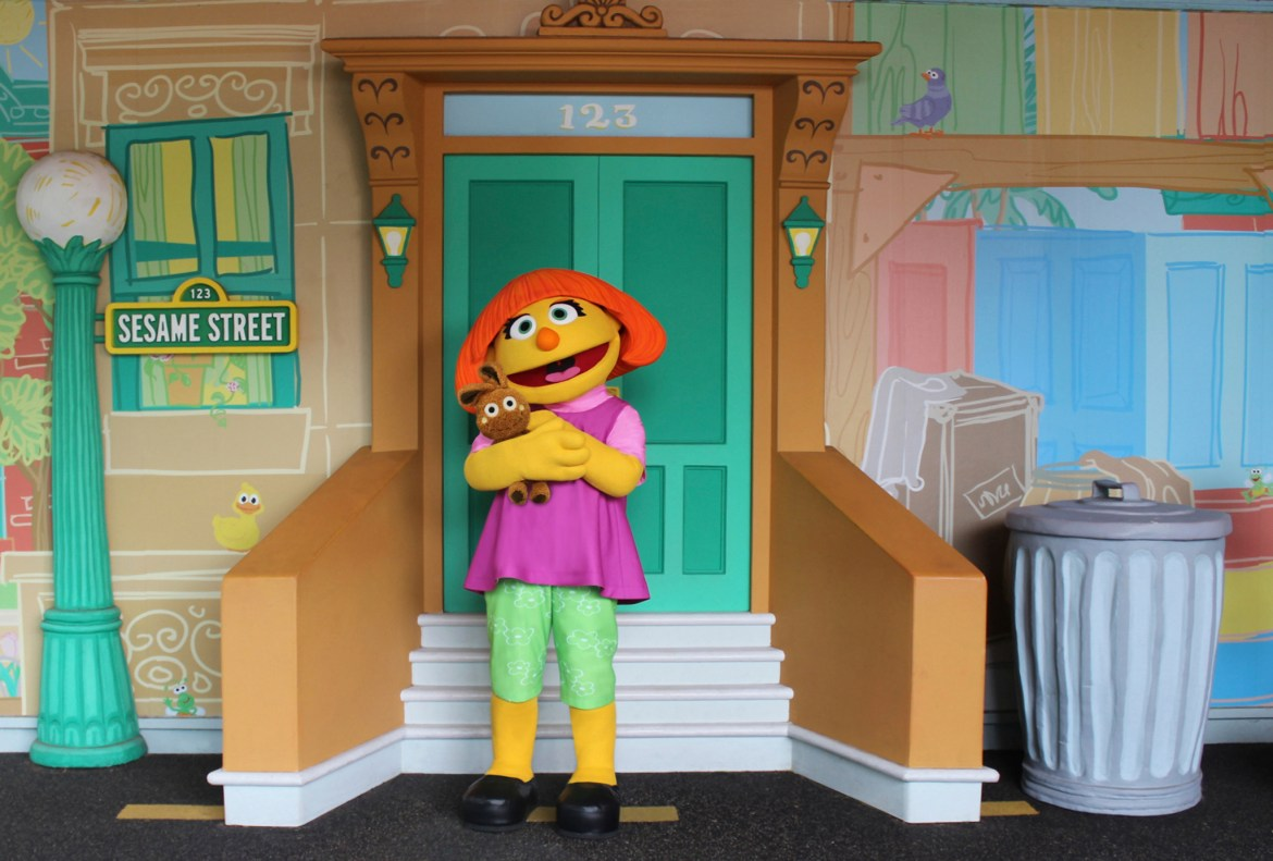 SeaWorld Orlando celebrates Autism Acceptance Month with the debut of Sesame Street character, Julia
