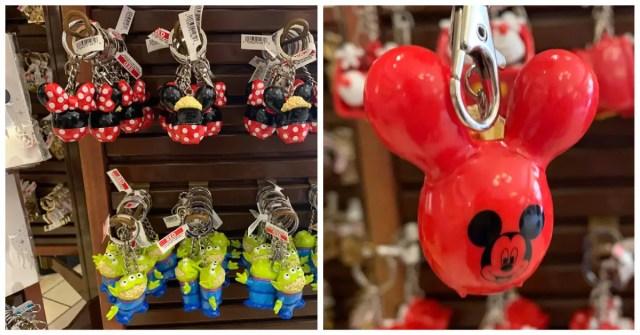 Disney Popcorn Bucket Keychains