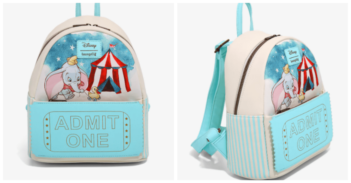 This Dumbo Loungefly Backpack Has A Ticket For Style