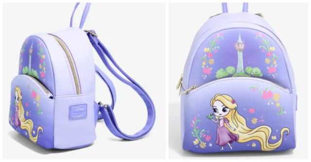 Chibi Rapunzel Mini Backpack