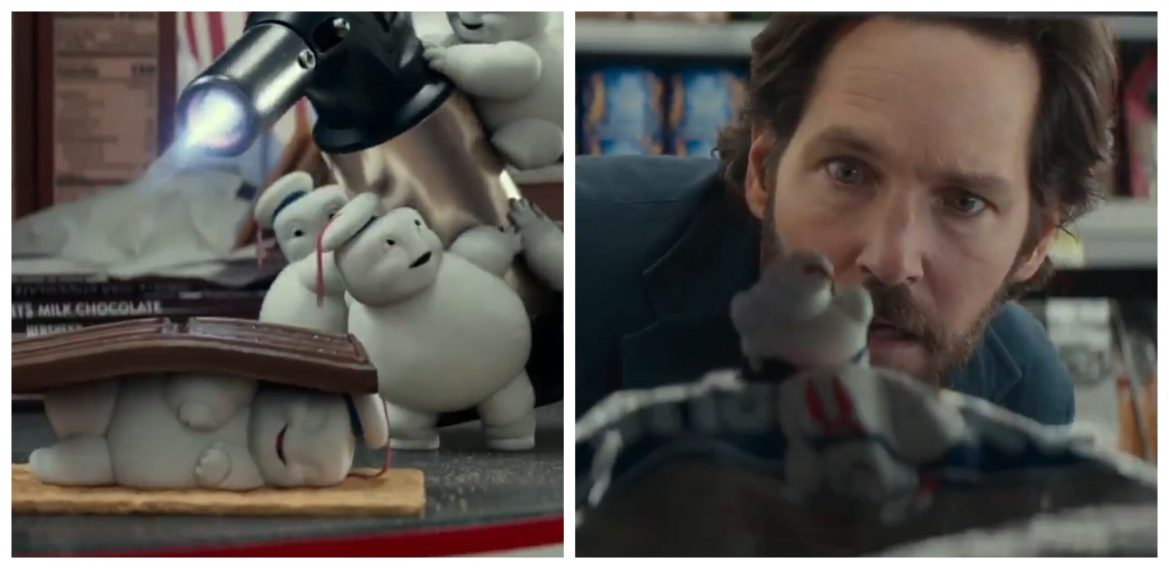 New 'Ghostbusters: Afterlife' Clip Features Paul Rudd and Mini Stay-Puft Marshmallow Men