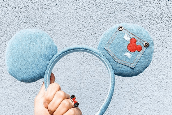 Disney Parks Designer Denim Ear Headband Coming Soon