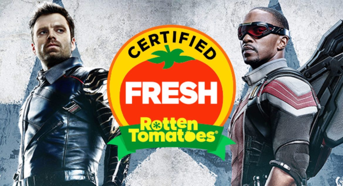 'The Falcon and the Winter Soldier' Receives a Certified Fresh Rating from Rotten Tomatoes