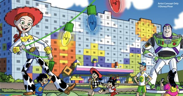 Toy Story hotel opening at Tokyo Disneyland just received its official name 1