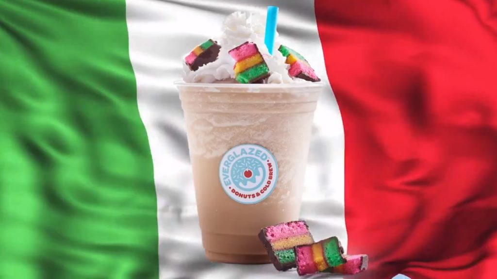 Little Italy Spiked Coffee now available at Everglazed Donuts in Disney Springs