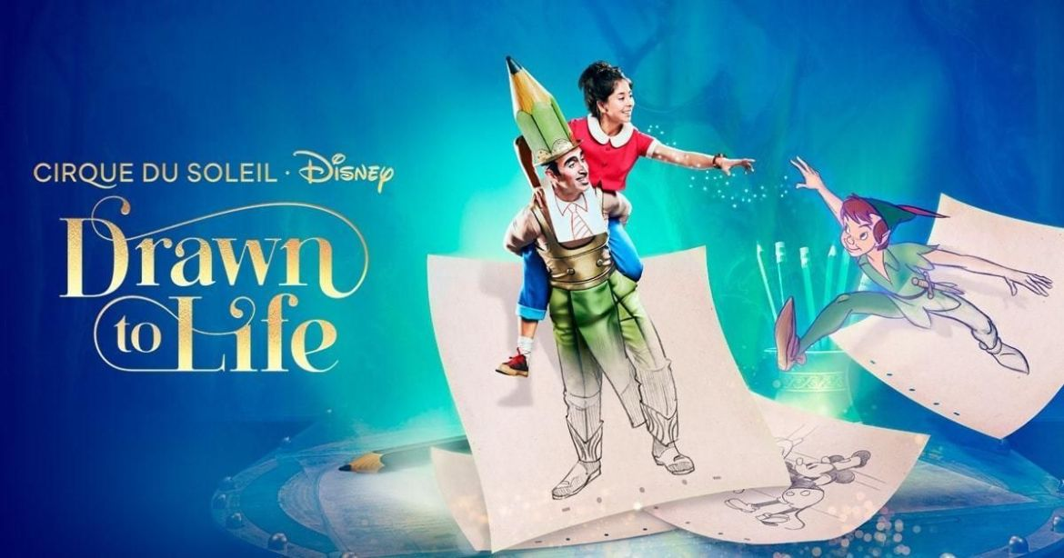 Cirque du Soleil's Drawn to Life expected to open this fall in Disney Springs