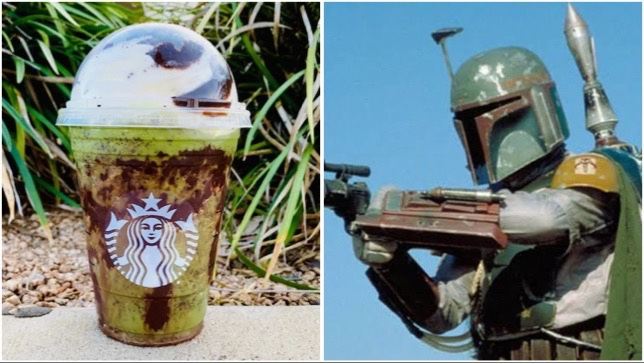 You Have To Try This Boba Fett Frappuccino From Starbucks!