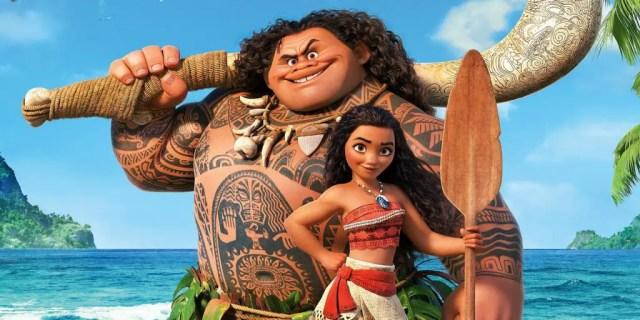 Maui and Moana promo image