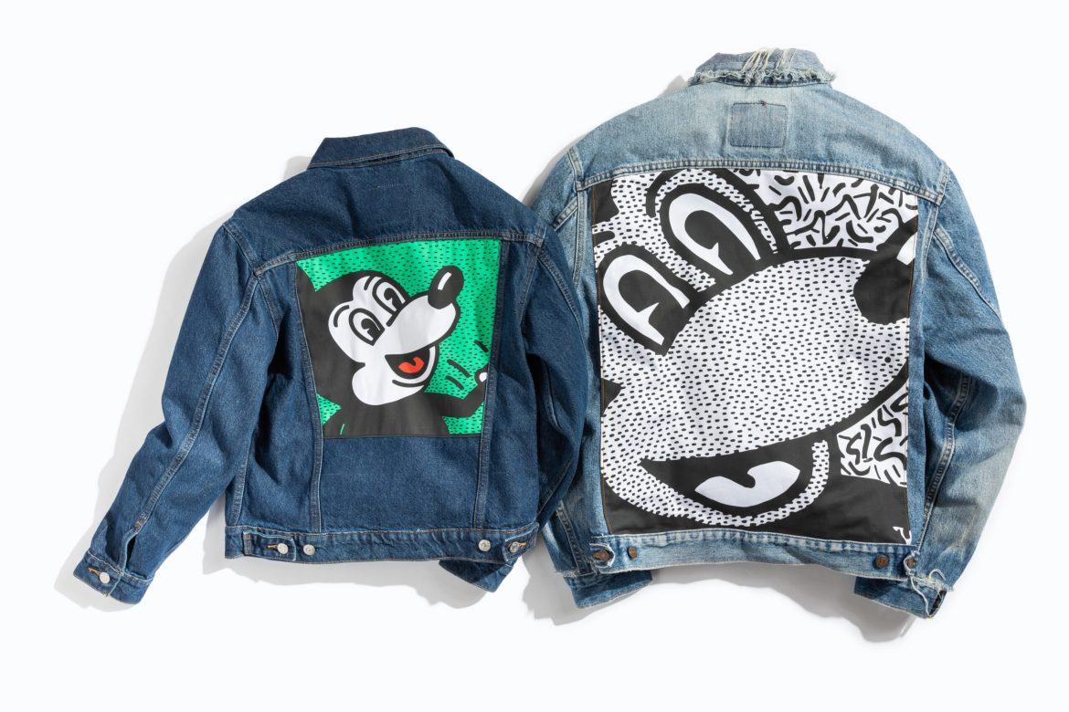 Disney Mickey Mouse x Keith Haring Collection From Levis