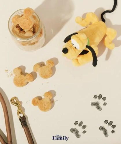 Mickey shaped dog treats