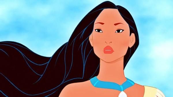 Animated Pocahontas