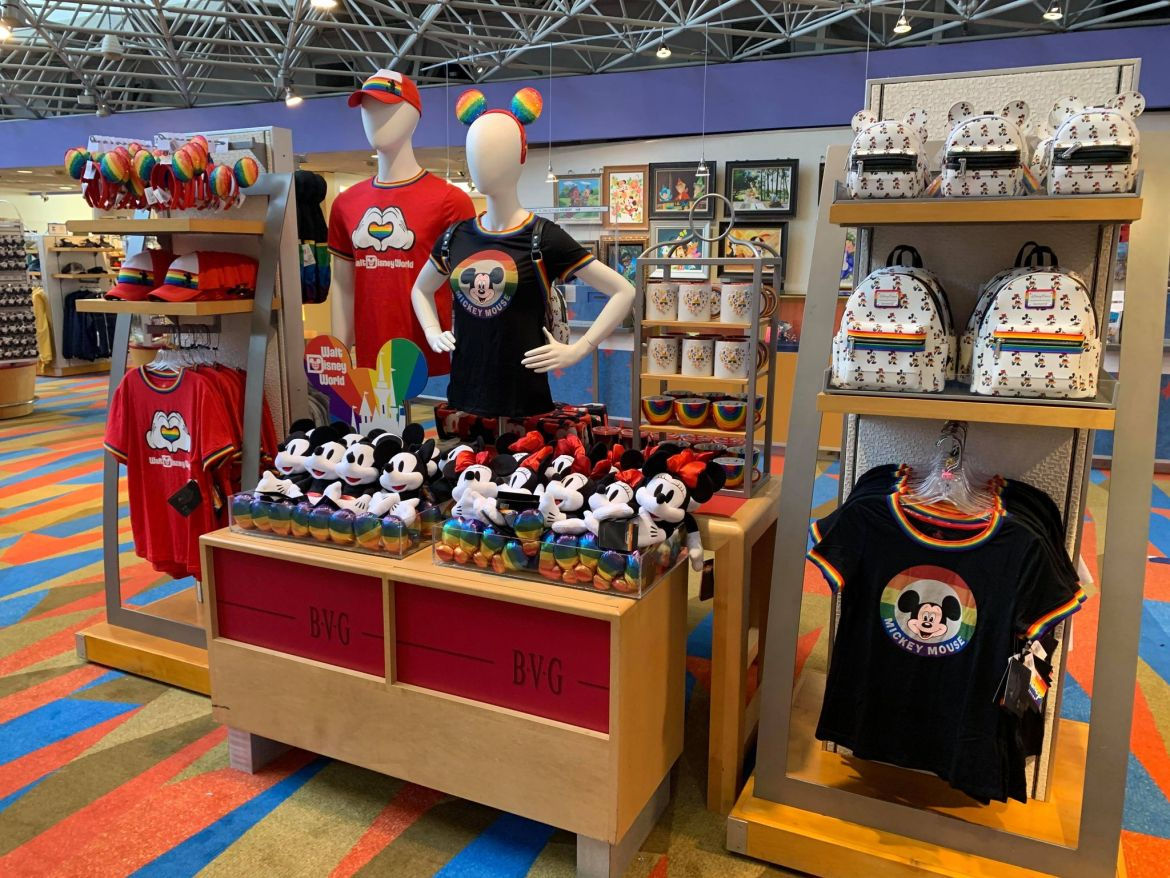 Disney's Rainbow Love Collection spotted online and at Walt Disney World