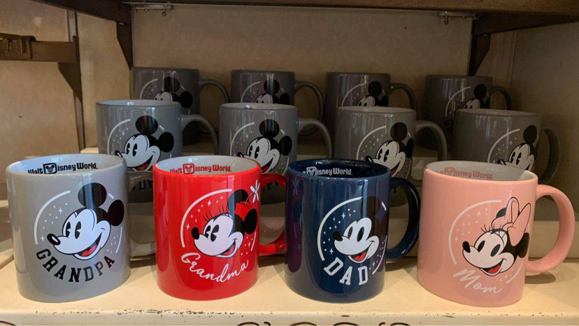 Celebrate Your Loved Ones With These Disney Family Mugs