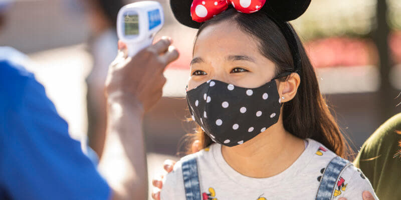 Disney World to phase out temperature screenings