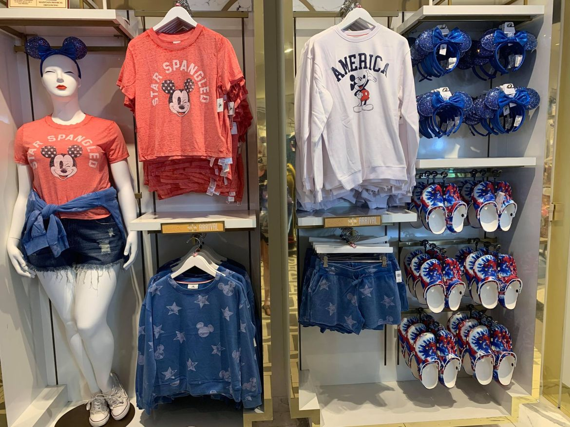 New Star Spangled Mickey Americana Collection
