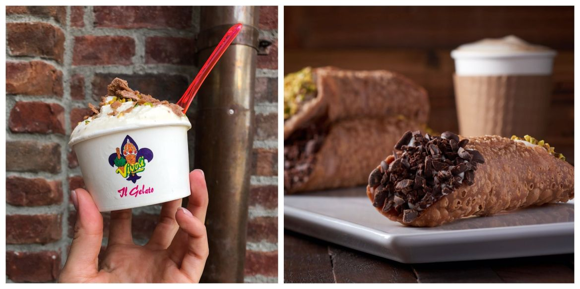 Indulge your sweet tooth with some of the best cannolis at Vivoli il Gelato