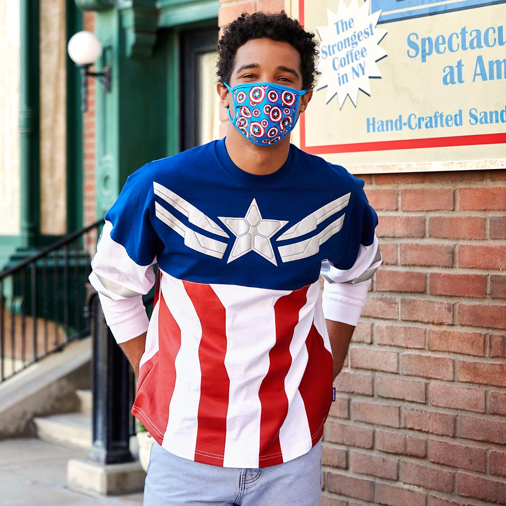 Captain America Spirit Jersey From The Falcon and the Winter Solider