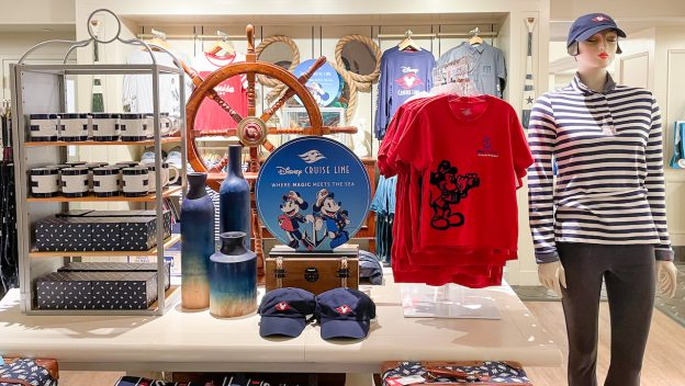 Disney Cruise Line Merchandise and Treats Now Yacht Club Resort