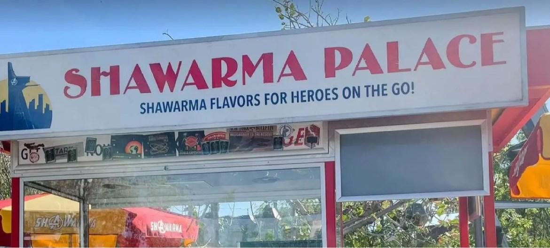 Disney shares Sneak Peek at  Shawarma Palace for Avengers Campus