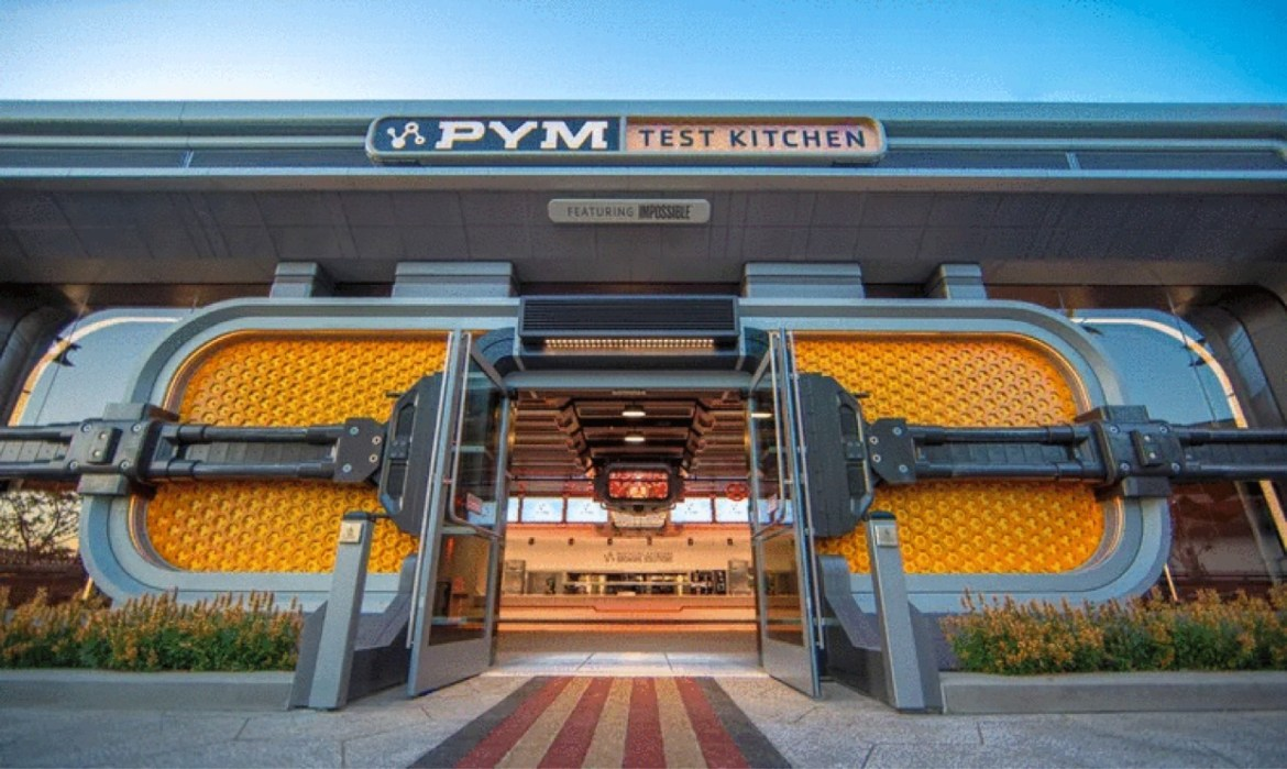 Disney Cast Members get to taste test the foods at Pym Test Kitchen
