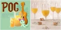 Pog juice mimosa