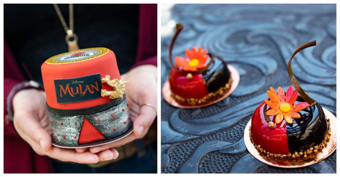 Two new Mulan themed cakes available for a limited time at Disney Springs