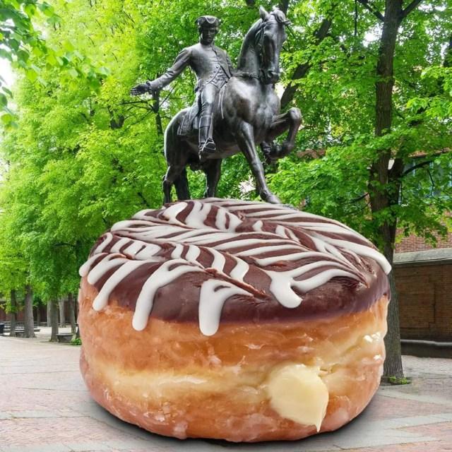 New Nutella Boston Creme Donut at Everglazed Donuts 2