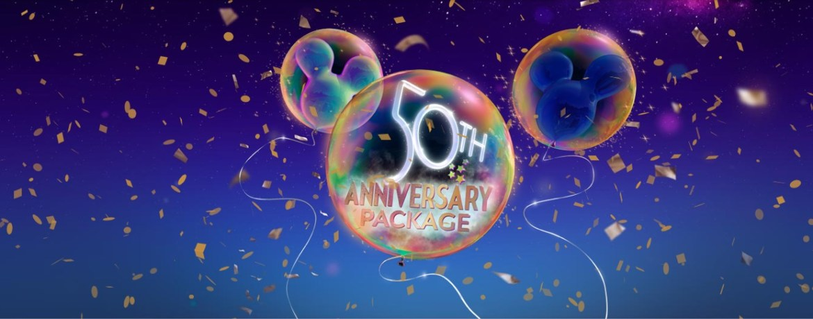 New 50th Anniversary Dining & Ticket offer for UK Residents