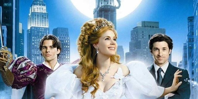 The cast of Disney's Enchanted