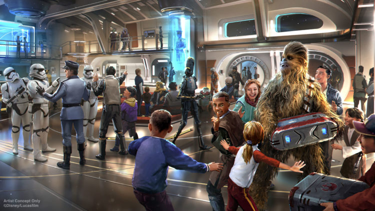 Disney is hiring Actors and Musicians for Star Wars: Galactic Starcruiser