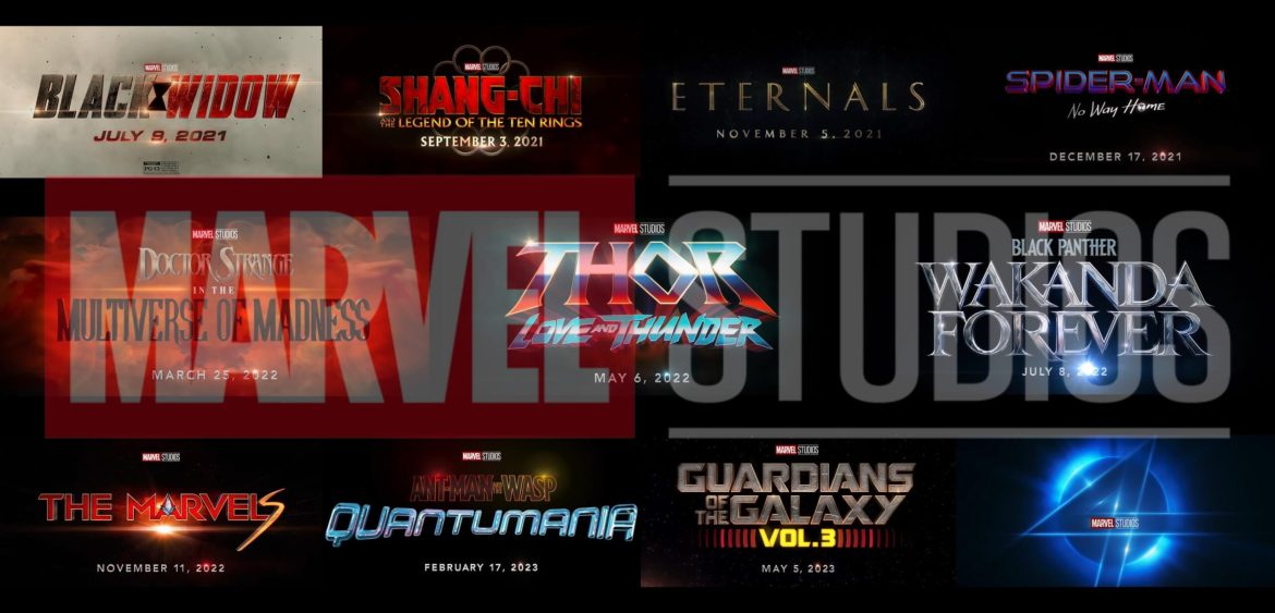 MCU Phase 4 Sizzle Reel Reveals New Titles and Confirms Which Marvel Studios Films are Coming in Phase 5