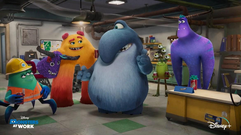 Sneak Peek at Monster's at Work coming to Disney+