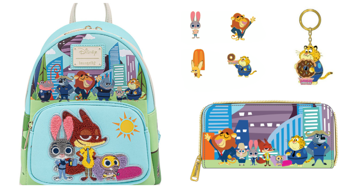 First-Ever Zootopia Loungefly Collection!