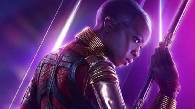 Okoye in Avengers: Endgame poster
