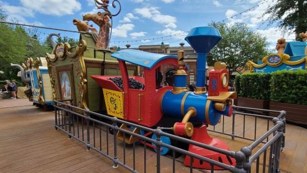 Casey Jr Splash 'n' Soak Station in the Magic Kingdom